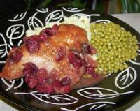 Poultry - Chicken -  Cranberry Glazed Chicken