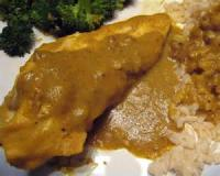 Poultry - Chicken -  Chicken With Banana Curry Sauce