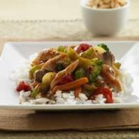 Poultry - Chicken -  Thai-style Chicken And Vegetable Stir-fry