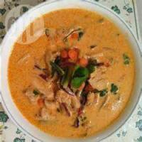 Poultry - Chicken -  Thai Chicken Curry