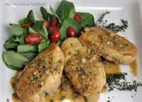 Poultry - Chicken -  Poulet Dijon