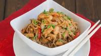 Poultry - Chicken -  Spicy Soba Noodles With Chicken In Peanut Sauce