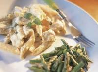 Poultry - Chicken -  Pasta With Chicken, Asparagus And Lemon