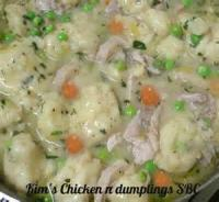 Poultry - Chicken -  Old Fashioned Chicken And Dumplings