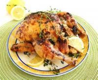 Poultry - Lemon Chicken With Thyme