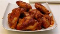 Poultry - Chicken Appetizer -  Baked Buffalo Wings