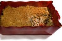 Poultry - Chicken Casserole -  Baked Chicken Salad