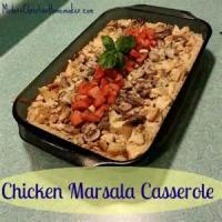 Poultry - Chicken Casserole -  Chicken Marsala Casserole