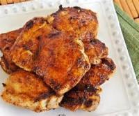 Poultry - Chicken -  Spicy Honey Glazed Chicken