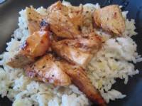 Poultry - Chicken -  Sticky Coconut Chicken With Chili Glaze