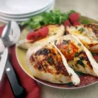 Poultry - Raspberry Chicken With Apples
