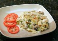 Poultry - Chicken Casserole -  Chicken Noodle Bake