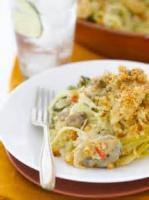 Poultry - Chicken Casserole -  Hearty Chicken Noodle Casserole