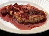 Poultry - Raspberry Vinegar Sauced Chicken Breasts
