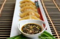 Poultry - Chicken Appetizer -  Chicken And Shrimp Dumplings With Soy Dipping Sauce
