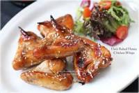 Poultry - Honey Baked Chicken Wings