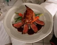 Poultry - Duck -  Braised Duck In Black Cherry Sauce