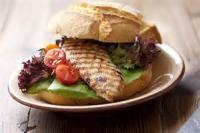 Poultry - Marinated Chicken In A Sandwich