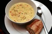 Poultry - Chicken Soup -  Cream Of Chicken Soup With Wild Rice