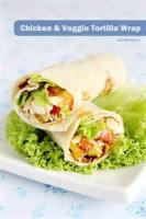 Poultry - Chicken Vegetable Tortilla Wrap