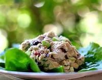 Poultry - Chicken Salad -  Nutty Orange Chicken Pasta Salad