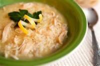 Poultry - Chicken Soup -  Lemon Chicken Soup
