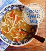 Poultry - Chicken Soup -  Smoked Chicken Noodle Soup