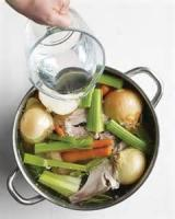 Poultry - Martha Stewart's Chicken Stock