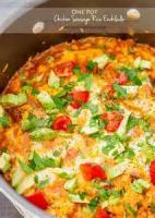 Poultry - Chicken Casserole -  One Pot Chicken Dinner