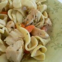 Poultry - Chicken Noodle Soup With Pesto