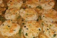Poultry - Chicken Stew -  Chicken Stew With Biscuits