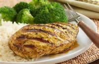 Poultry - Grilled Turkey Breast With Curry