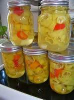 Preserving - Canned Peppers