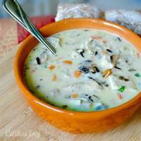Poultry - Turkey Soup -  Creamy Turkey Rice Soup