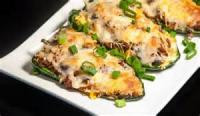 Poultry - Turkey -  Stuffed Poblano Chile Peppers