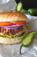 Poultry - Turkey Sandwich -  Grilled Jalapeno Turkey Burgers