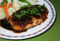 Poultry - Turkey -  Turkey Cutlets With Balsamic Brown Sugar Sauce