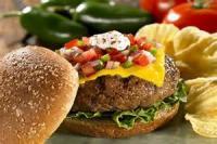 Poultry - Turkey Sandwich -  Grilled Tex-mex Turkey Burgers