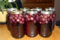 Preserving - Grape Juice