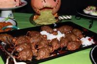 Poultry - Turkey -  Halloween Meatloaf Mice
