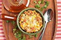 Poultry - Turkey Casserole -  Mexican Noodle Bake
