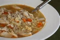 Poultry - Turkey Soup -  Turkey-stuffing Soup