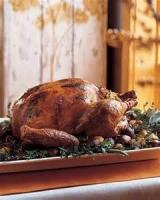 Poultry - Turkey -  Roast Turkey With Sausage And Chestnut Stuffing