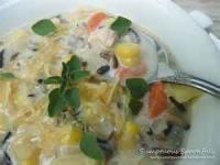 Poultry - Turkey Soup -  Classic Creamy Wild Rice Soup