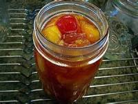 Preserving - Conserve -  Peach Conserve With Rum