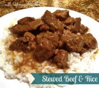 Rice - Beef Tips On Rice