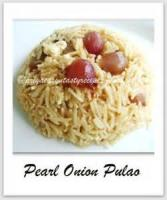 Rice - Quick Onion Pullao