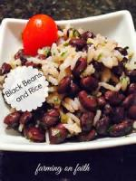 Rice - Black Beans And Rice