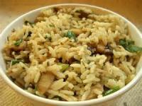Rice - Mushroom Rice