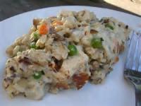 Rice - Casserole -  Chicken With Wild Rice Casserole